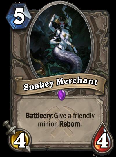Snakey Merchant