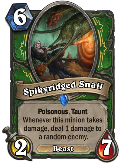 Spikyridged Snail