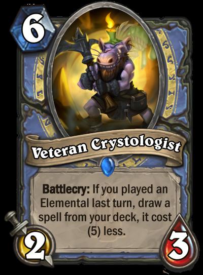Veteran Crystologist