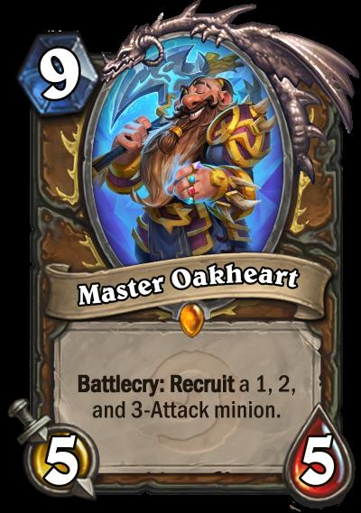 Oakheart fixed
