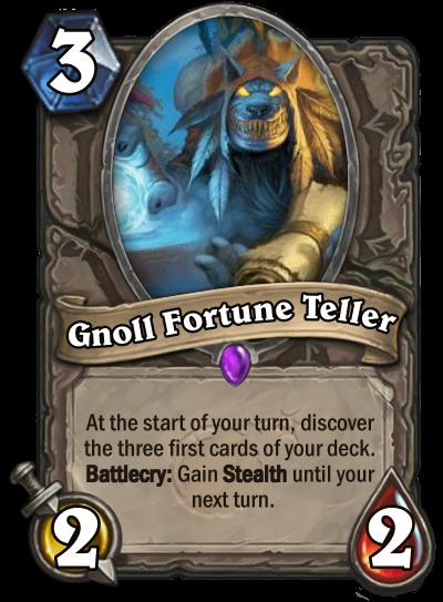 Gnoll Fortune Teller